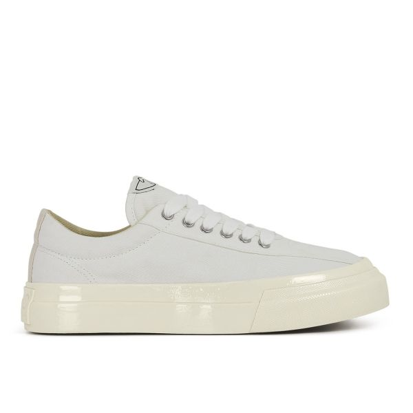 Womens Dellow Canvas White Side