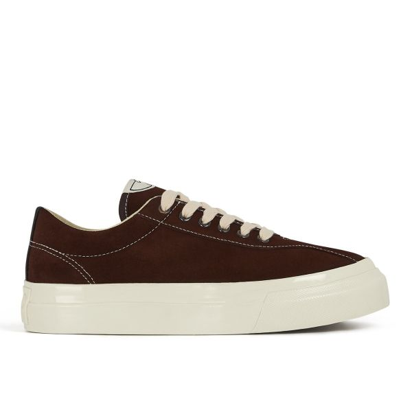 Womens Dellow Suede Chocolate Side