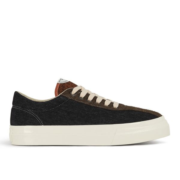 Mens Dellow Marl Felt Black Mix Side