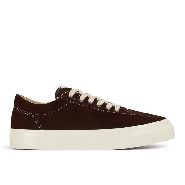 Mens Dellow Suede Chocolate Side