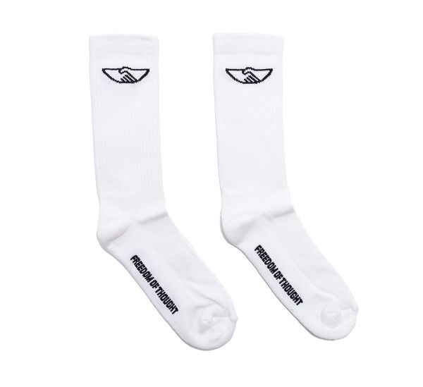 HANDSHAKE SOCK OFF-WHITE