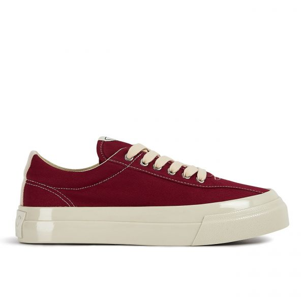 Womens Dellow Canvas Dust Red Side