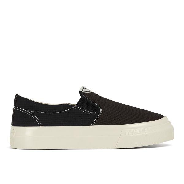 Womens Lister Mini-Check Nylon Black Sole