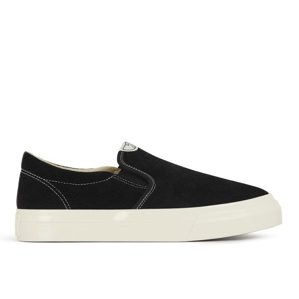 Mens Lister Suede Black Side