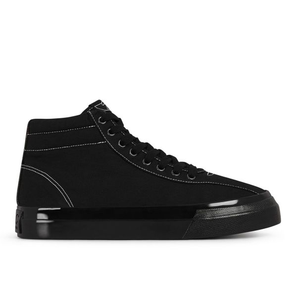 Mens Varden Canvas Black Black Side