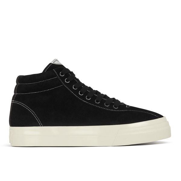 Mens Varden Suede Black Side