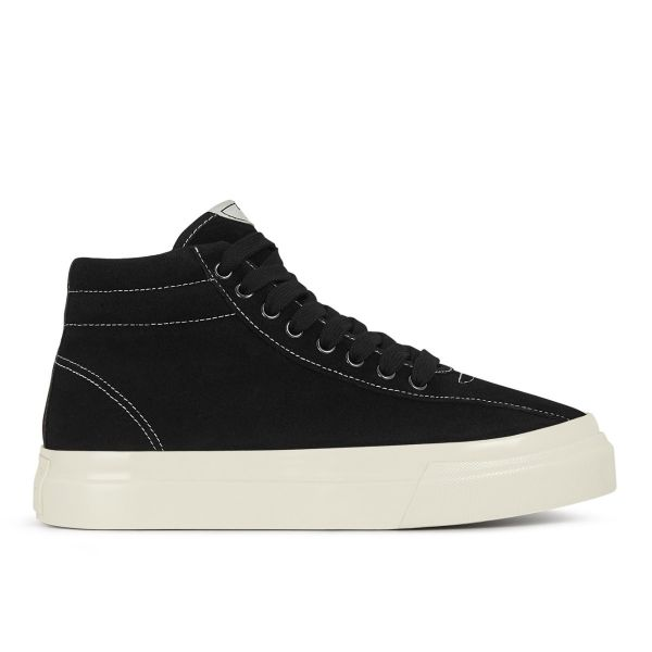 Womens Varden Suede Black Side